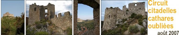 Les citadelles oubliées du pays cathare